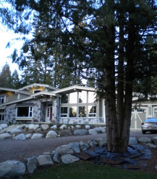 Burke mountain house